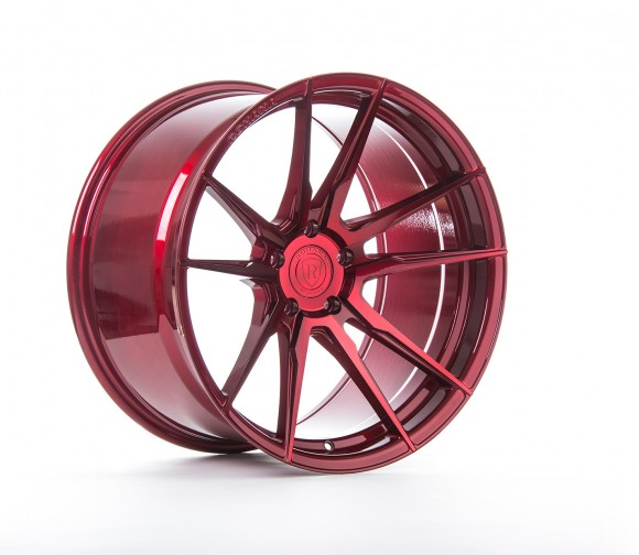 Rohana Gloss Red Wheels for BMW