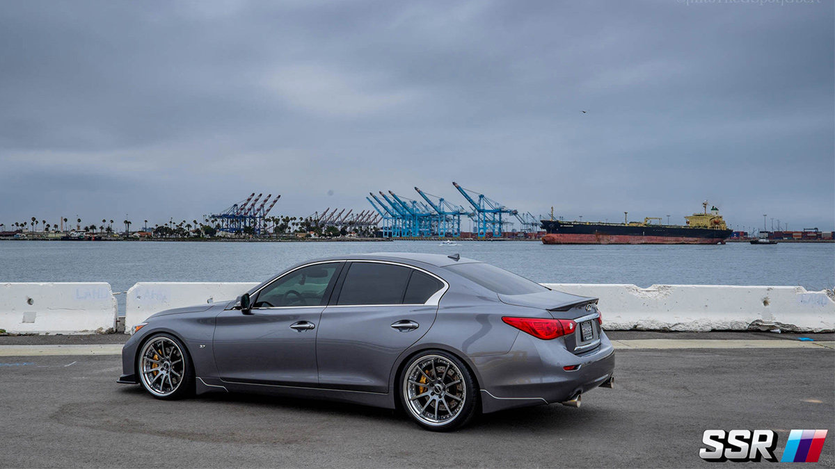 CV01s SSR flat titan silver for BMW 5-series, modbargains