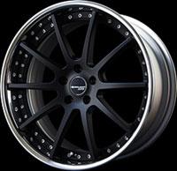 SSR Wheels Executor CV01 Flat Black