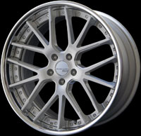 SSR Wheels Executor CV02 Brushed