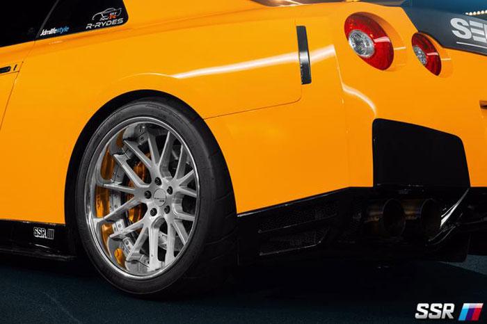 SSR Wheels Executor CV02 Skyline GTR