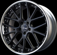 SSR Wheels Executor CV02S Flat Black
