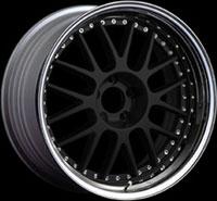 SSR Wheels Professor MS1 Flat Black