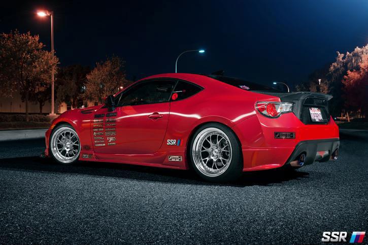 SSR Wheels MS3 BRZ