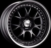 SSR Wheels MS3 Flat Black