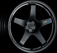 SSR Wheels GTF01 Flat Black
