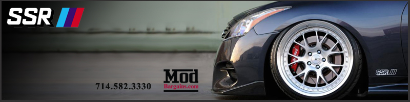 Get SSR Wheels Executor CV01's at Modbargains!