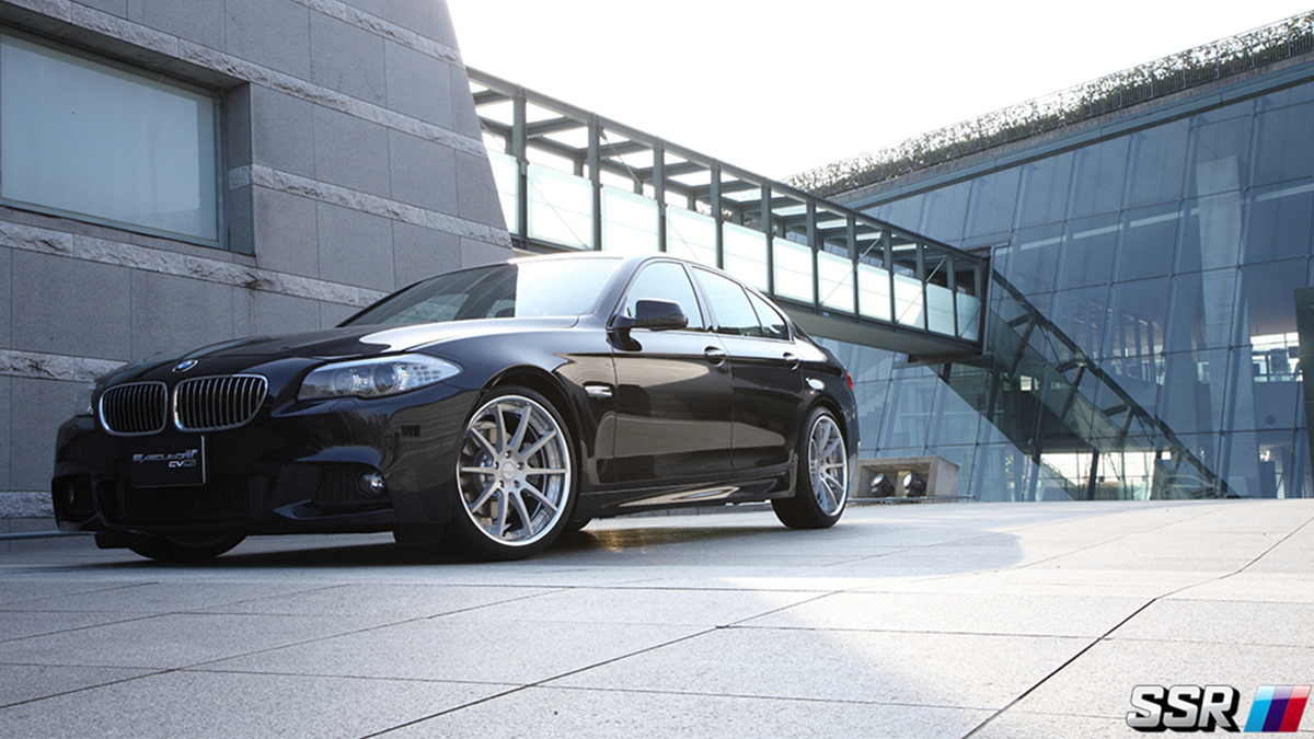 CV01 SSR flat titan silver for BMW 5-series, modbargains