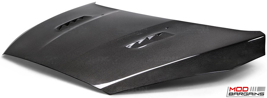 Seibon Carbon Fiber RS-Style Hood for Ford Focus (2)
