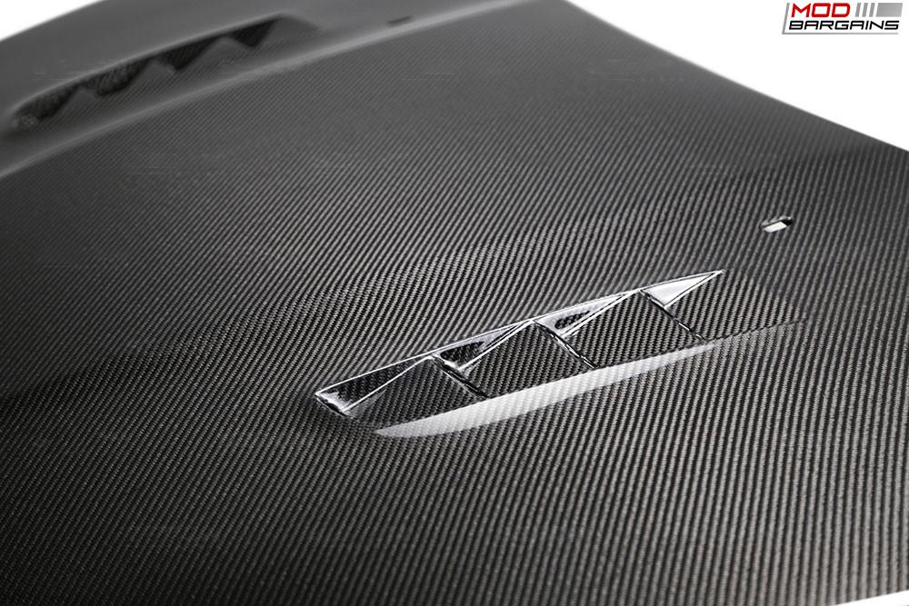 Seibon Carbon Fiber RS-Style Hood for Ford Focus