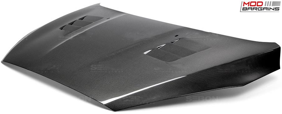 Seibon Carbon Fiber TS-Style Hood for Ford Focus