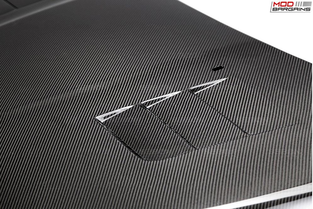 Seibon Carbon Fiber TS-Style Hood for Ford Focus (2)