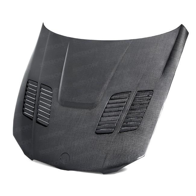 Seibon Carbon Fiber GTR Style Hood for E90/E92 BMW 3 Series