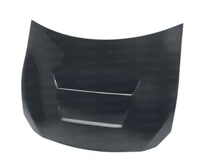 Seibon DV Style Carbon Fiber Hood Scion FR-S / Subaru BRZ