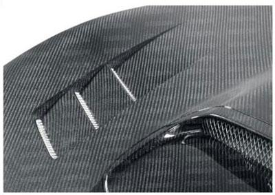Seibon FA Style Carbon Fiber Hood Scion FR-S / Subaru BRZ