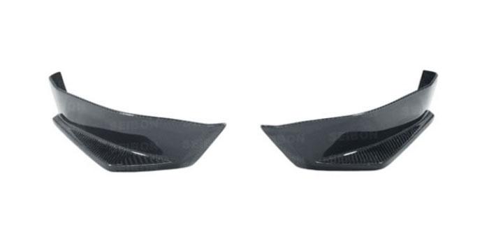 Seibon Carbon Fiber KC Style Rear Lip Scion FR-S / Subaru BRZ