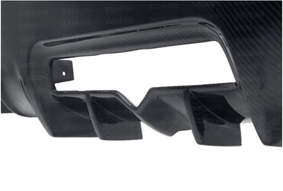 Seibon Carbon Fiber TB Style Rear Diffuser Scion FR-S / Subaru BRZ