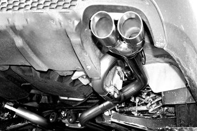 Solo Performance Pontiac G8 V8 Axle Back Exhaust Kit