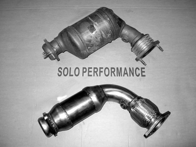 Solo Performance Catalytic Converters VS Stock