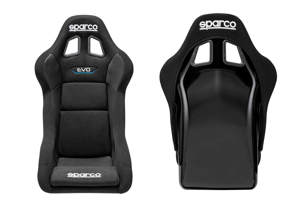 Sparco Evo QRT Seat front and back