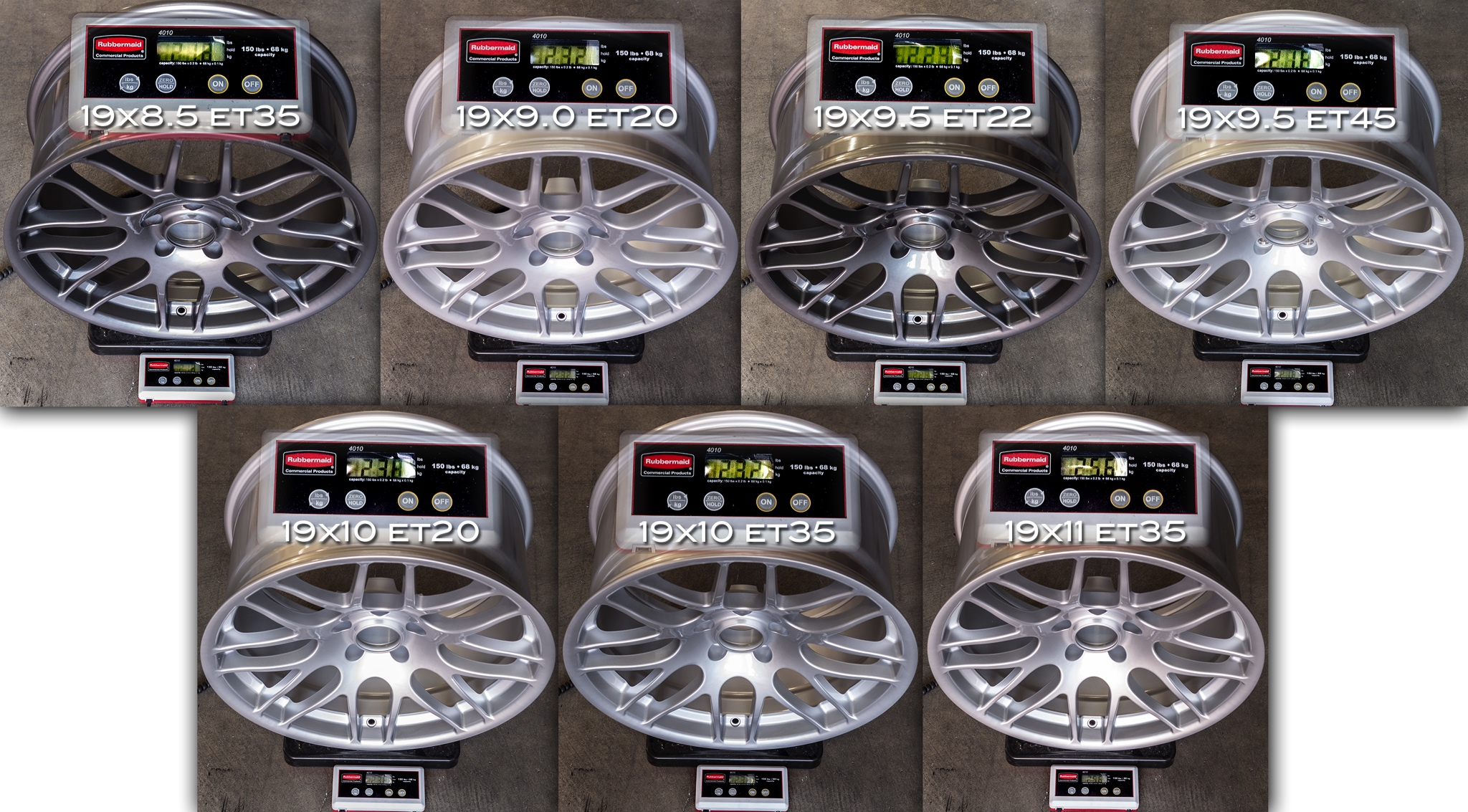 Sportline 8S BMW M3 CSL Replica Wheel Weights Forged
