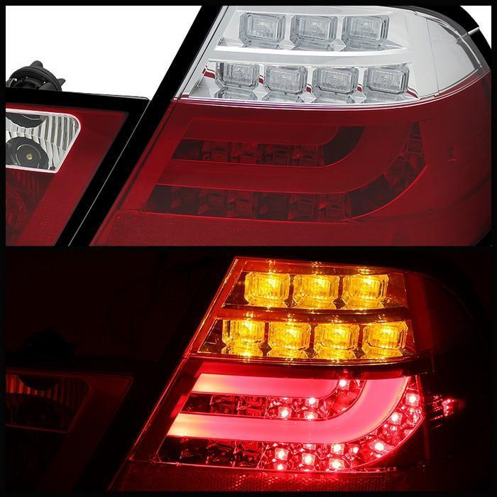 Spyder Smoked Style LED Lightbar Tail Lights for 2000-2003 BMW 325i/ 328i/ 330i [E46] Coupe
