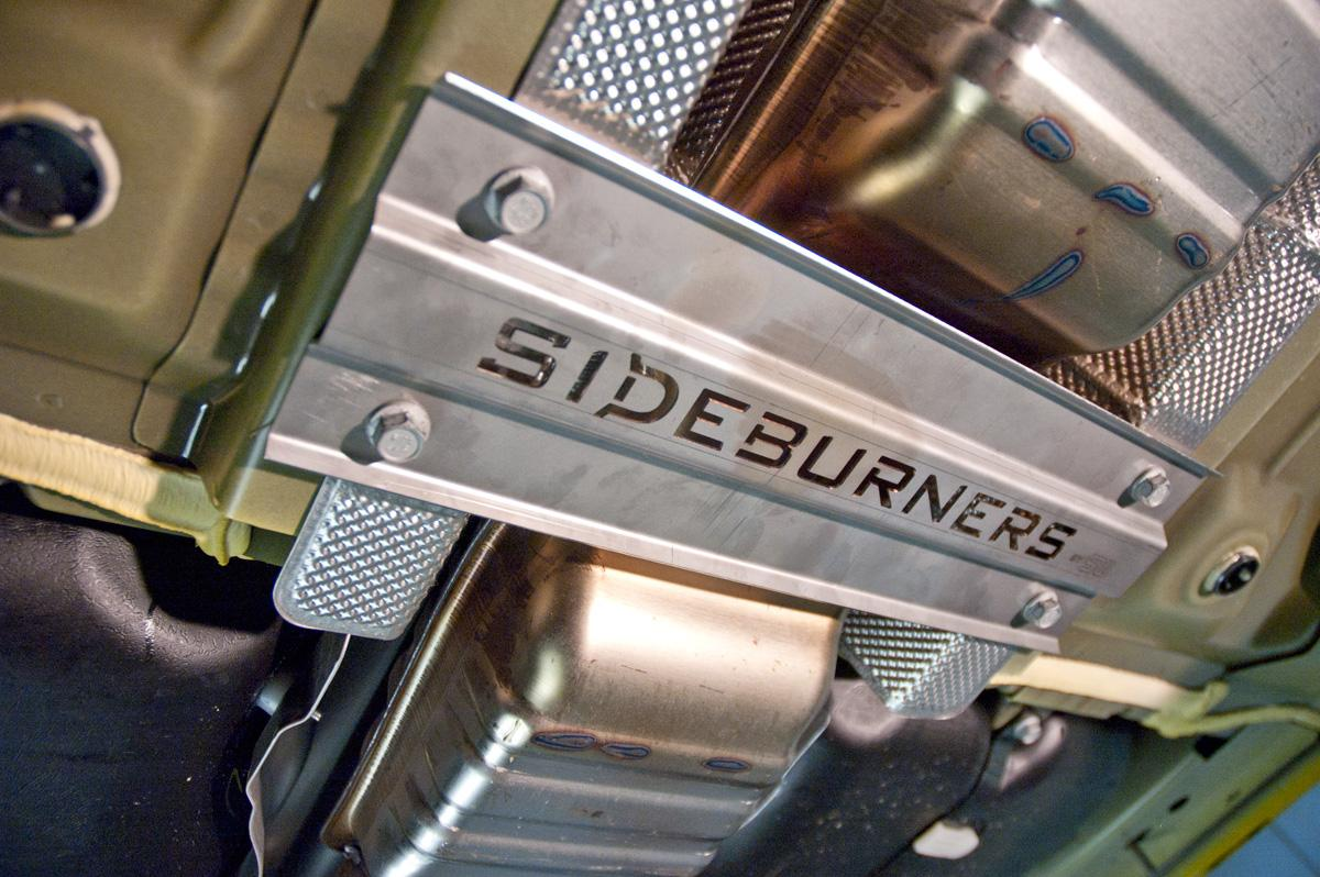 SideBurners Exhaust by Stainless Works now sold at ModBargains.com