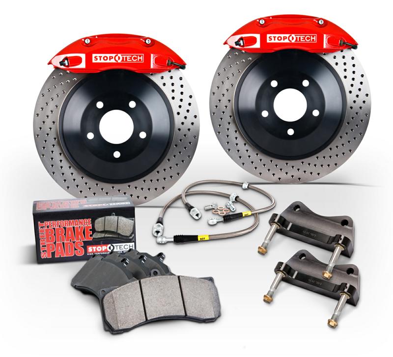 StopTech Big Brake Kit for 88 Audi A4/A5