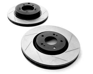 Stoptech Slotted Rotor Mustang