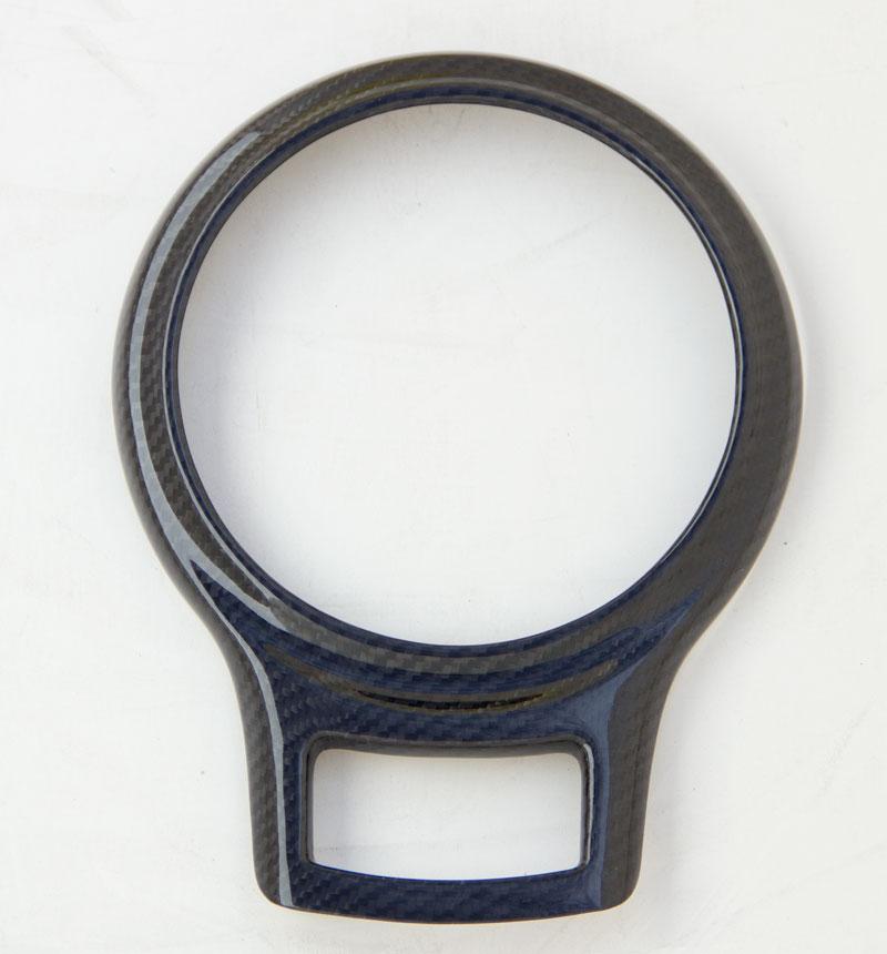 Carbon Fiber Gear Shifter Bezel Cover for 2012+ Scion FR-S/Subaru BRZ Installed at ModBargains