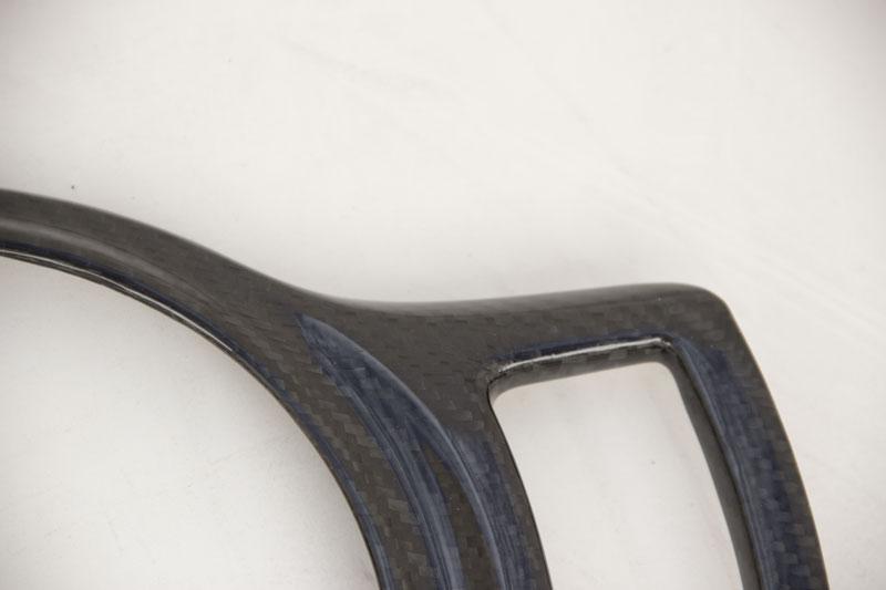 Carbon fiber shift boot cover frs