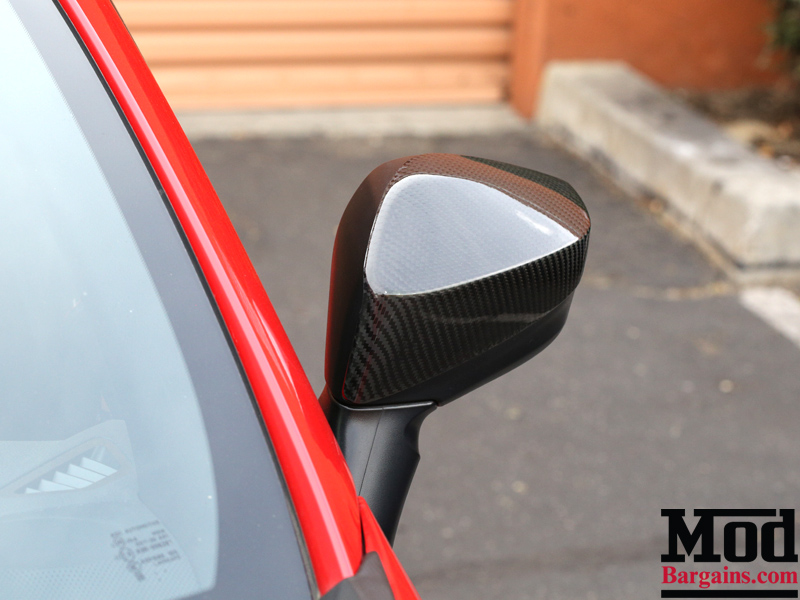 Carbon Fiber Mirror Covers for 2012-14 Scion FR-S/Subaru BRZ [ZN6/ZC6] Installed at ModBargains.com 4