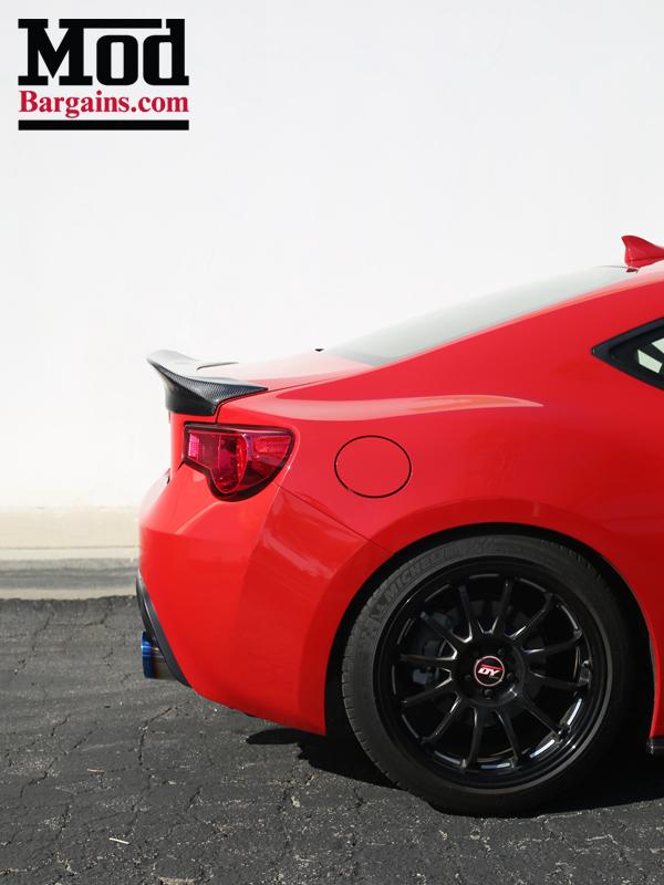 FRS with CF Trunk Spoiler