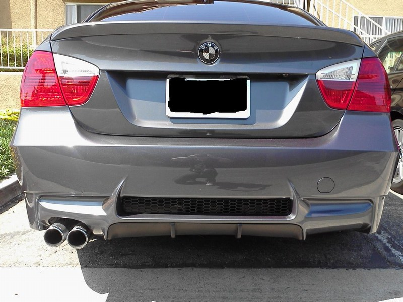 M3 Style Rear Bumper for BMW E90 325i/328i/330i/335i