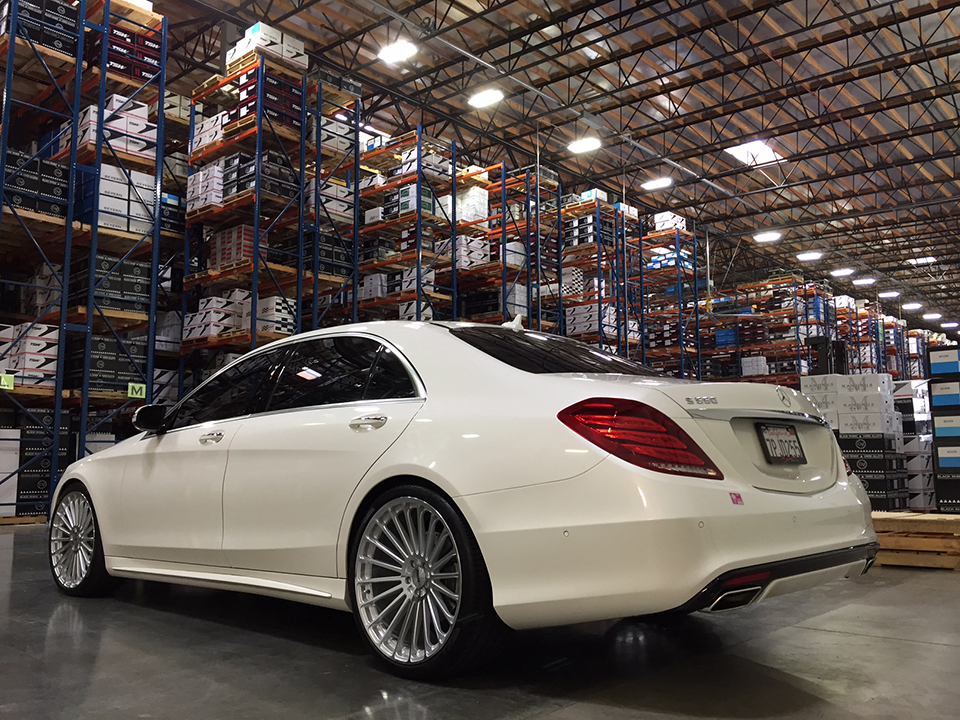 TSW Turbina Wheels Installed on Mercedes Benz (2)