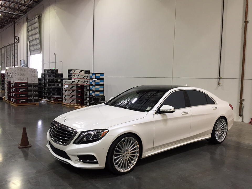 TSW Turbina Wheels Installed on Mercedes Benz (3)