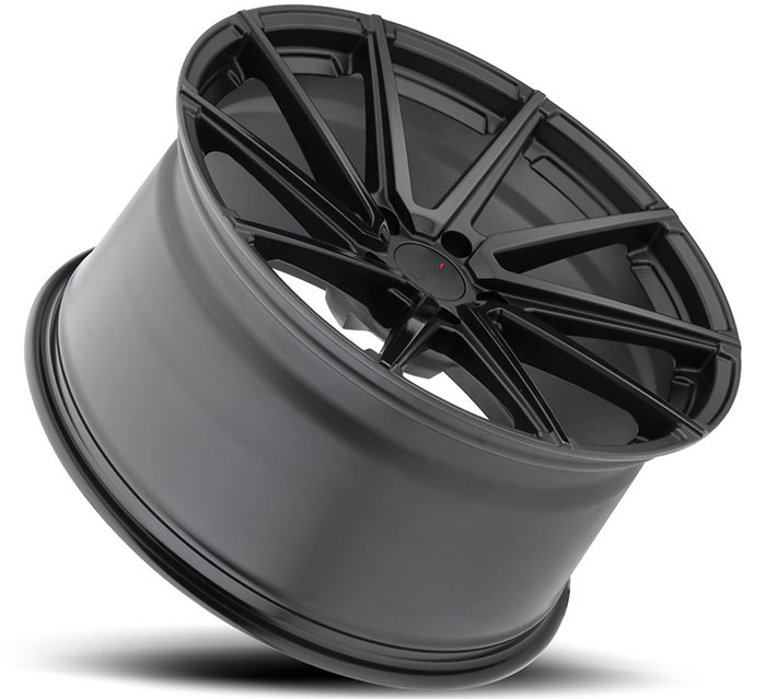 TSW Watkins Wheels in Double Black - Matte Black w/ Gloss Face Hyundai
