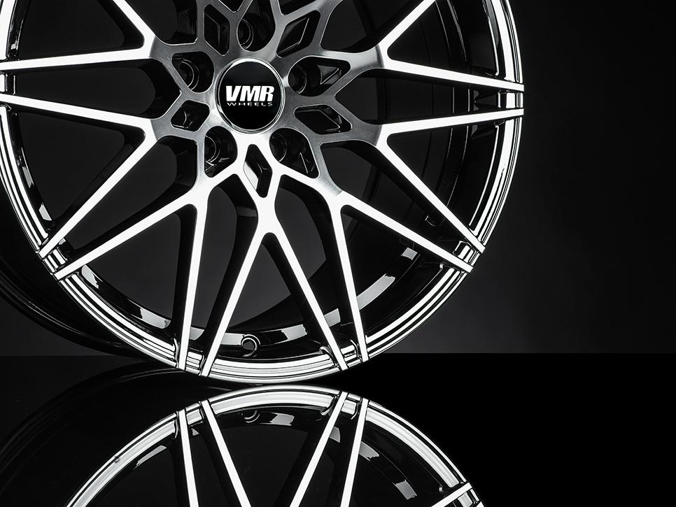 VMR V801 Wheels in Mercury Black Metallic (3)