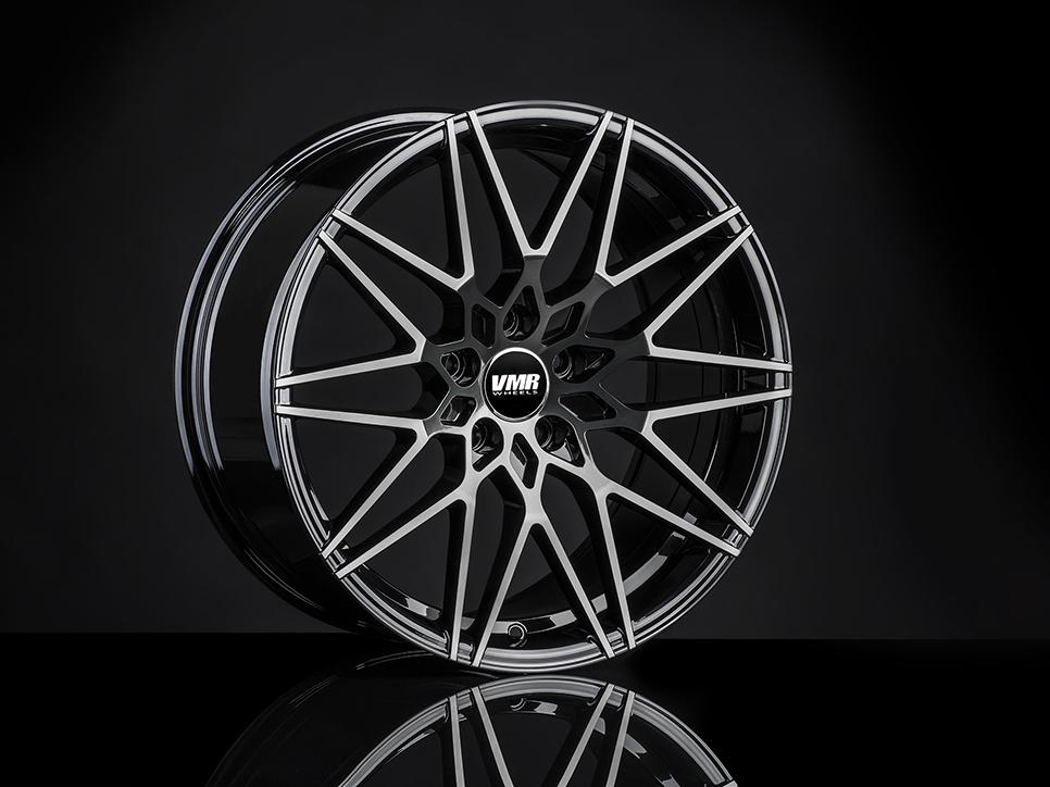 VMR V801 Wheels in Titanium Black Shadow