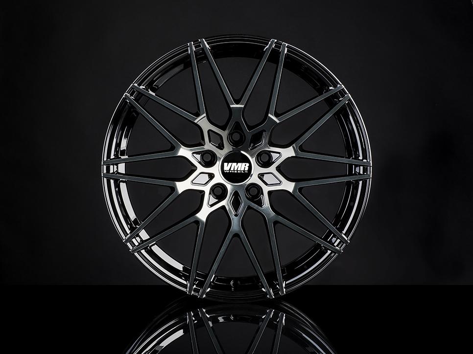 VMR V801 Wheels in Titanium Black Shadow (2)