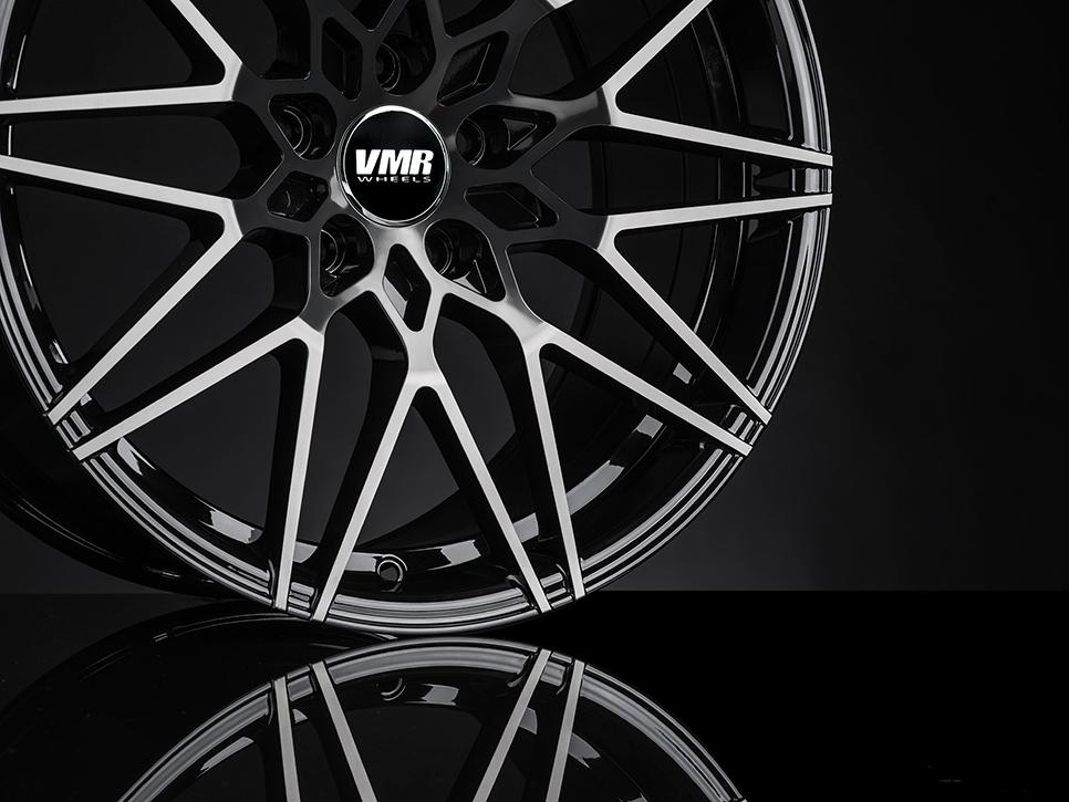VMR V801 Wheels in Titanium Black Shadow (6)