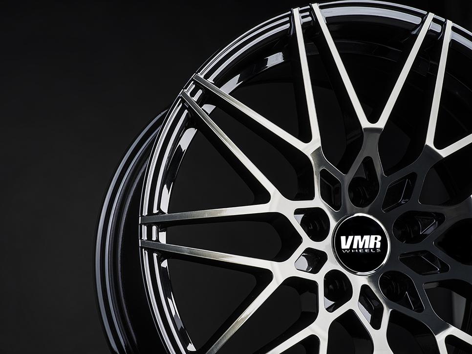 VMR V801 Wheels in Titanium Black Shadow (3)