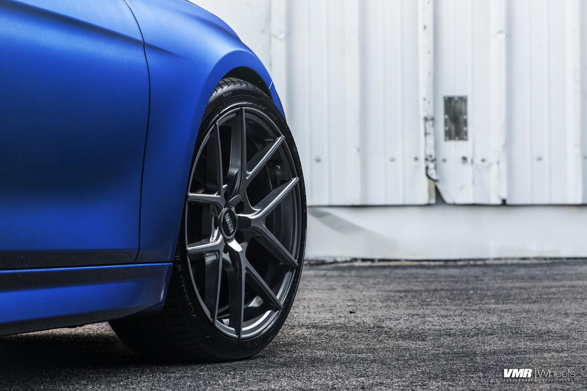 VMR V803 Flow Forged 19'' Wheels for BMW 5x120mm - Hyper Silver or Gunmetal