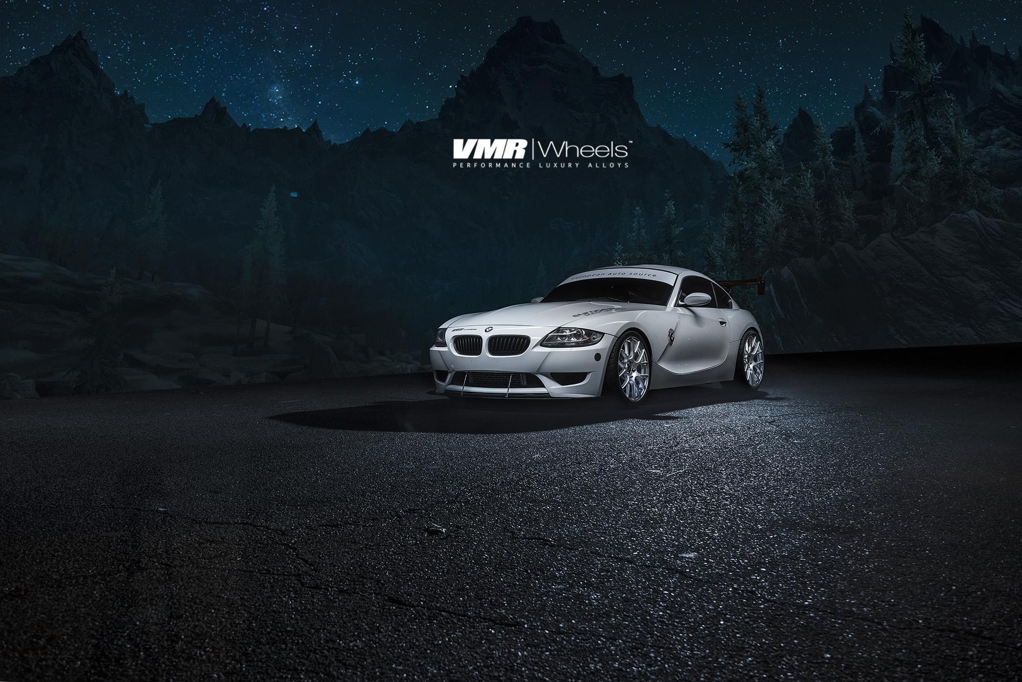 VMR V810 19in Hyper Silver Wheels on BMW E89 Z4M
