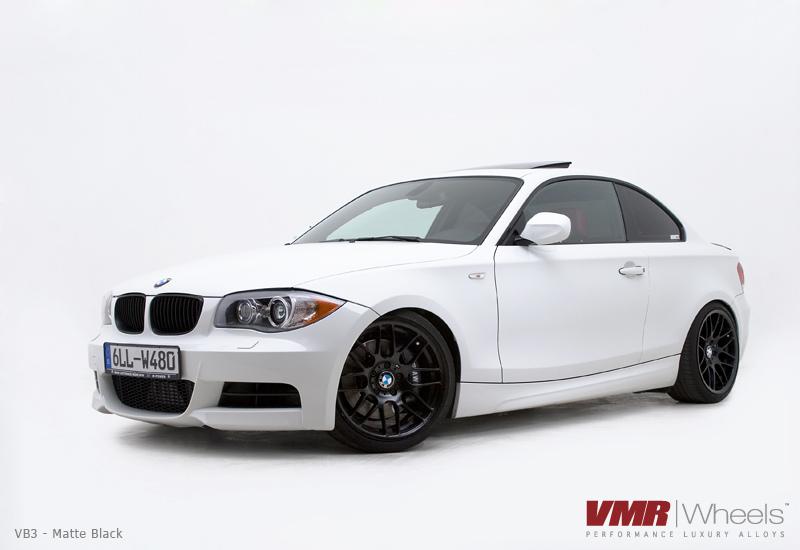 VMR VB3 Matte Black BMW 135i