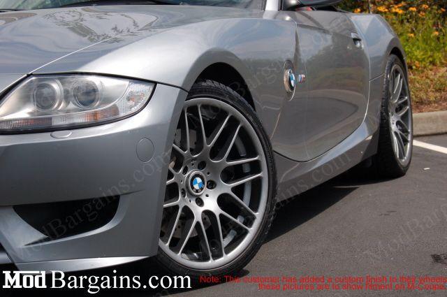 VMR VB3 Super Silver on BMW E90 3 Series
