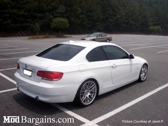 VMR VB3 Super Silver on BMW E92 3 Series