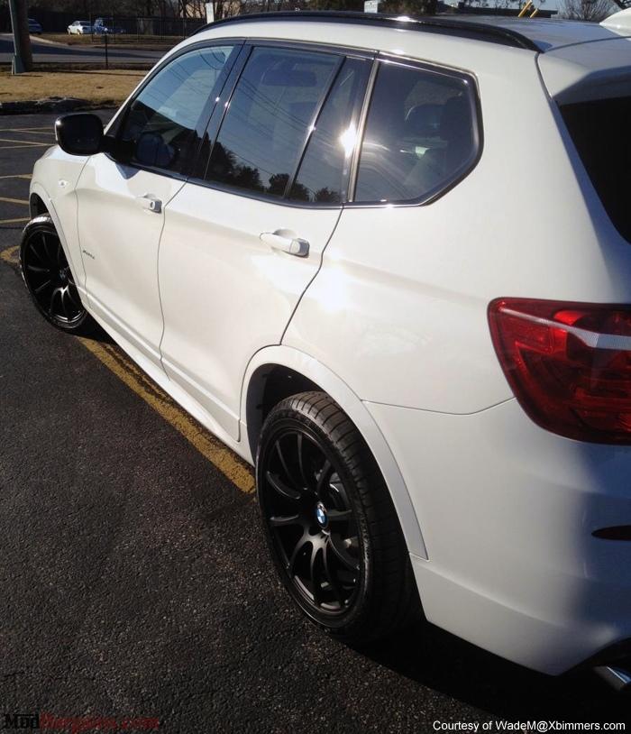 VMR Wheels V701 Advan RS Style Matte Black on white X3