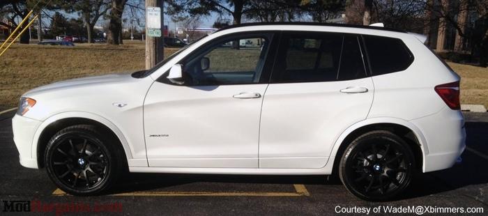 VMR Wheels V701 Advan RS Style Matte Black on F25