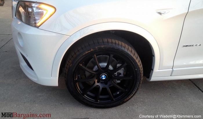 VMR Wheels V701 Advan RS Style Matte Black on white F25